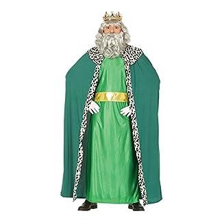 GUIRMA Traje Rey Magio melchor, Color Verde, L (52–54), 41688
