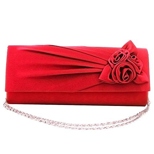 Gosear Signore Donne Partito da Sposa Sera Pochette Bouquet di
