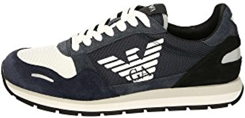 Emporio Armani Herren Sportschuhe  Color Blau  Marca  Modelo Herren Sportschuhe X4X215 XL200 Blau
