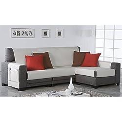 Zebra Textil 21466 - Salve sofa, color Marrón