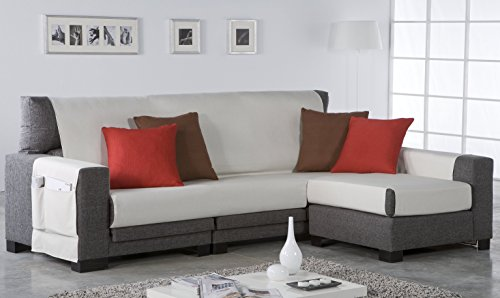 Zebra Textil 21466 - Salve sofa, color Marrón