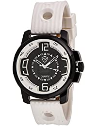 Watch Karts Analogue Black Dial Men's Watch -Wh_302_Bk_Wh