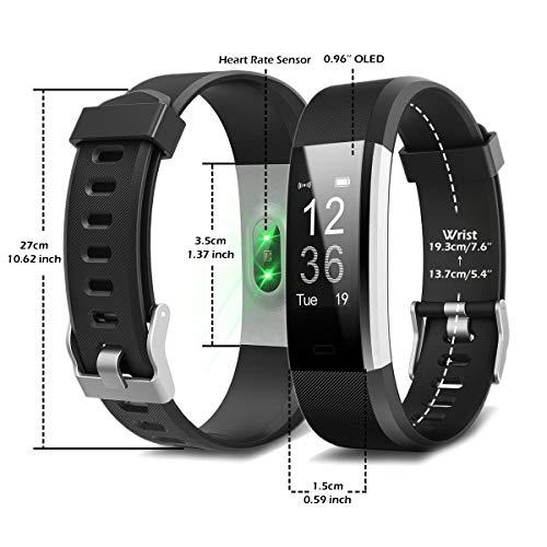 Zoom IMG-2 fitness tracker impermeabile ip67 latec