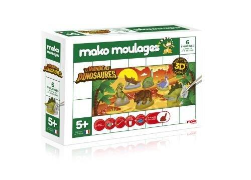 mako-creations-39018-kit-de-loisirs-creatifs-dinosaures-6-pieces