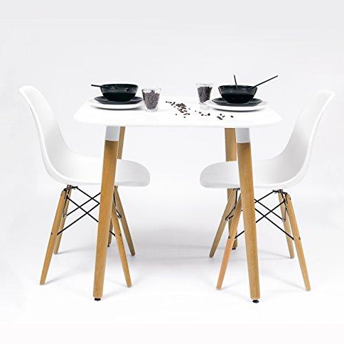Homely - Conjunto de Cocina-Comedor de diseño nórdico-Scandi ...