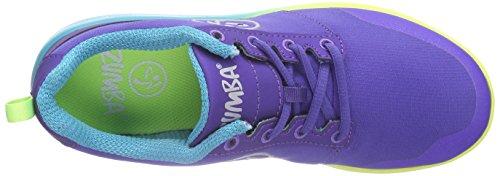 Zumba Footwear - Zumba Court Flow, Scarpe Da Ginnastica da donna Viola (purple)