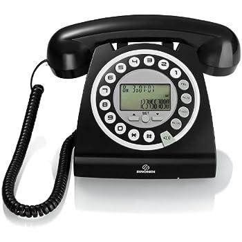 Brondi telefono fisso stile retro 39 vintage bianco vintage 10 design made in italy - Telefono fisso design ...