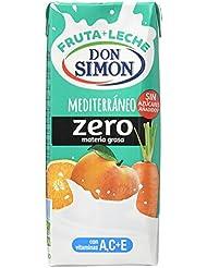 Don Simon Mediterraneo refresco Mixta de Zumo de Frutas y Leche, 6x200 ml