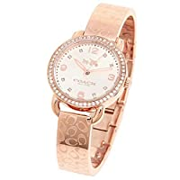 Coach Watch For Women - Analog Stainless steel Strap, 14502396