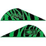 Bohning Blazer Vane (Pack Of 36), Green Tiger
