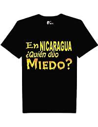 kameleon t-shirts En Nicaragua Quien dijo Miedo t-shirts