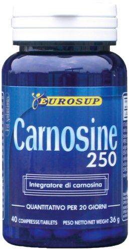 EUROSUP CARNOSINE 250 40 CPR