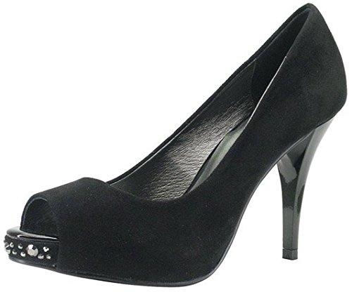 ROBERTO BOTELLA - Chaussures pointe découvertes Noir