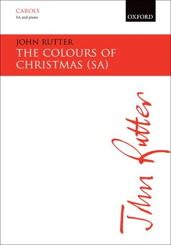 The Colours of Christmas: SA Vocal Score
