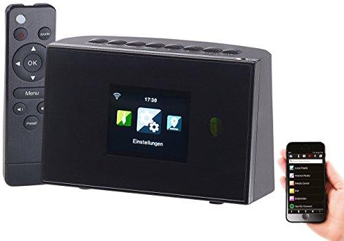 VR-Radio WiFi Radio: WLAN-HiFi-Empfänger (Tuner) für Internetradio und UKW, Fernbedienung (Internetradioreceiver)