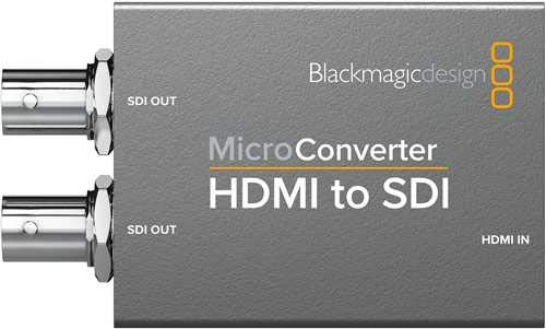 Blackmagic Micro Converter HDMI to SDI (Without Power Supply)