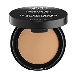Nyx Professional Makeup Hydra Touch Powder Foundation, Deep Honey, 9g