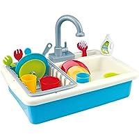 PlayGo Fregadero con Agua y 20 Piezas (Color Baby 44591)
