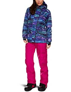 Animal Women's Nieves Winter Technical Jacket - Turquoise, Size 12