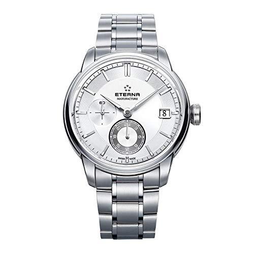 Eterna Men's Steel Bracelet Case Automatic Analog Watch 7661-41-66-1702