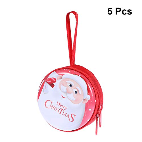 PRETYZOOM Changement de Noël Sacs à Main Cadeaux Candy Headset Line Box Tree Hanging Box 5pcs