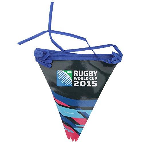 Rugby World Cup 8Flaggen Wimpelkette–Mehrfarbig, 5m (Unisex Erwachsene Rugby)