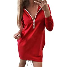 greece rotes sweatshirt kleid 4200b d775f