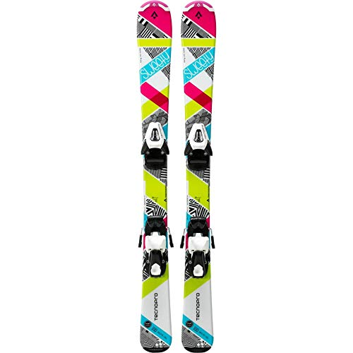 TECNOPRO Ski-Set Sweety Jr. NTC45/NTL75, weiss/pink/türkis,130
