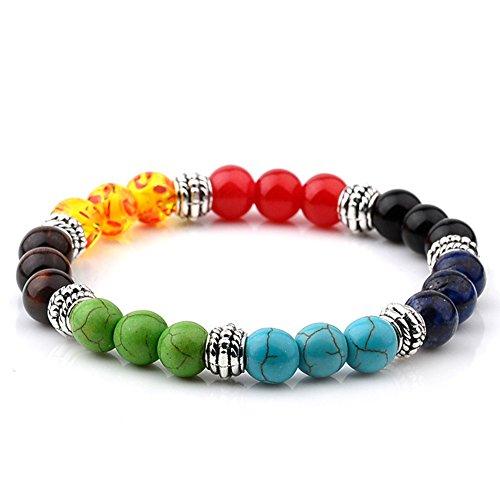 mband, Türkis Scrub Achat Perlen Armband, Halloween Weihnachtsgeschenk Armband (Halloween-scrubs)