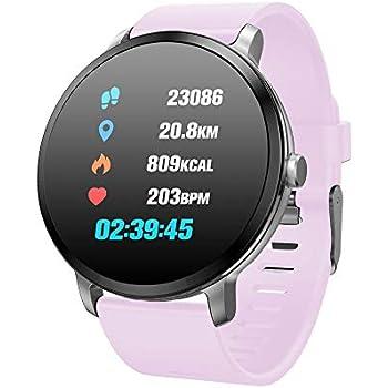 V11 Smart Watch IP67 A Prueba De Agua Templado Vidrio ...