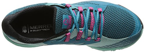 Merrell All Out Charge, Chaussures de Trail femme BLUE/ADVENTURINE