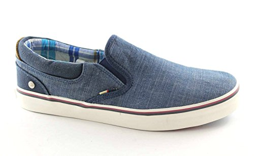 WRANGLER 1011 legend slip on denim scarpe uomo sportive sneaker 45