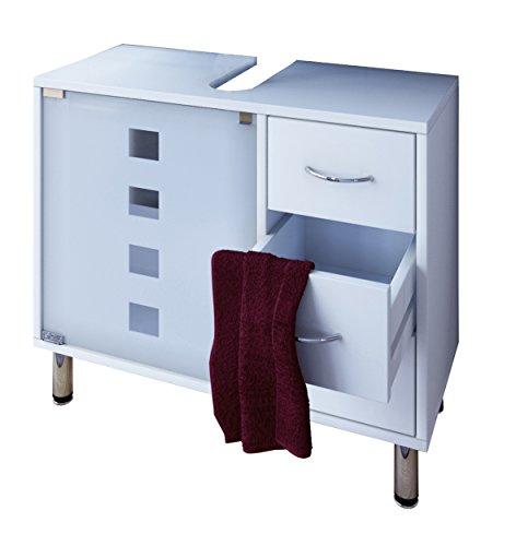 Foto de VCM Lodala - Set de baño, 5 piezas, color blanco