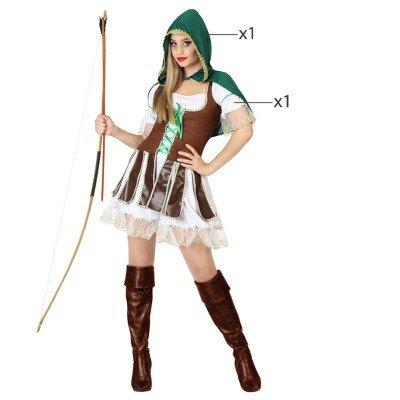 stüm für Erwachsene–Archer–T-2 (Archer Erwachsenen Kostüme)
