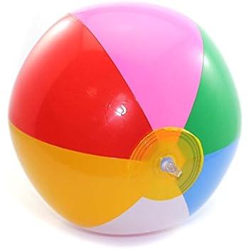 TOSSPER Piscine Party Eau Jeu Gonflable Ballon de Plage mer color/é Creative Balle Fun Kids Toy