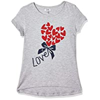 OVS Girl's 191TSH043E-230 T-Shirt, Grey (Paloma 1683), 5-6