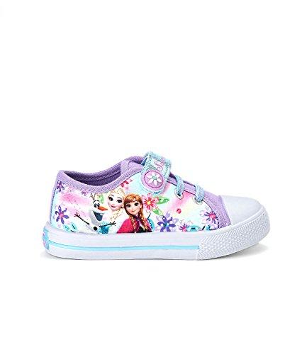 Disney Die Eiskönigin Elsa & Anna Mädchen Sneaker - lila - 30