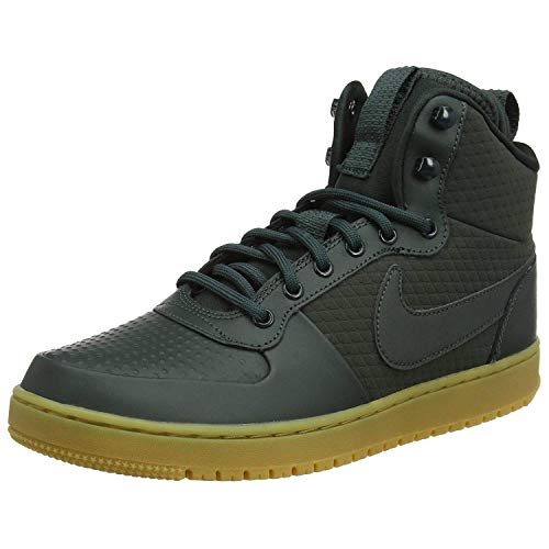 Nike Herren Court Borough Mid Winter Fitnessschuhe, Mehrfarbig Outdoor Green/Black 300, 40 EU
