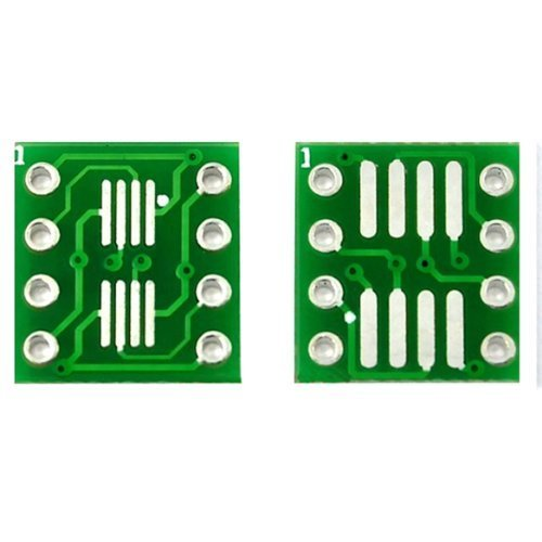 10 PCS SOP8 SO8 SOIC8 SMD to DIP8 Adapter PCB Board Convertor Double Sides