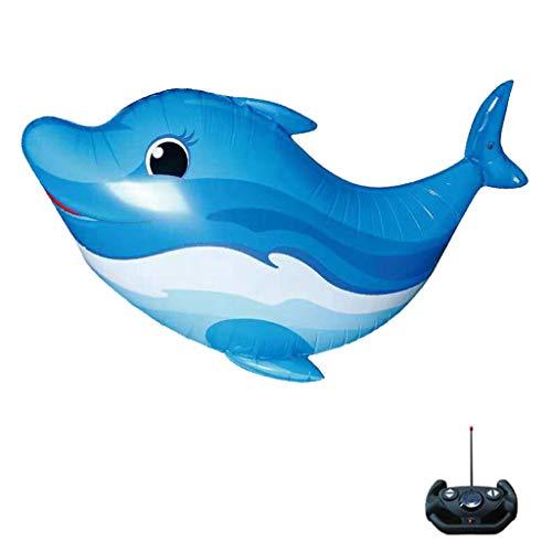 g Ballon Spielzeug für Kinder RC Fliegende Fisch Familie Aquarium Helium Ballons Zuhause Dekoration Zum Party Weihnachten, 10 x 12.5 x 2.5 Zoll (Blau) ()