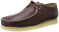 Clarks Mens Wallabee Leather Lace-up Shoe Brown Leather 7 D(M) US