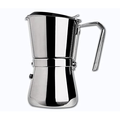 41sNST67bTL. SS500  - Giannini 103 Espresso Maker, Silver