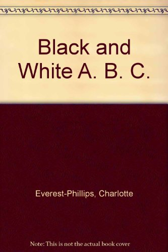 A black and white ABC