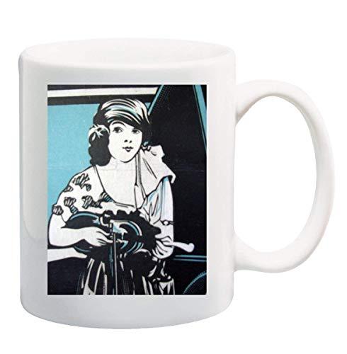 JAZZ WAYFARER GIRL 1920 Mug Cup - 11 Unzen