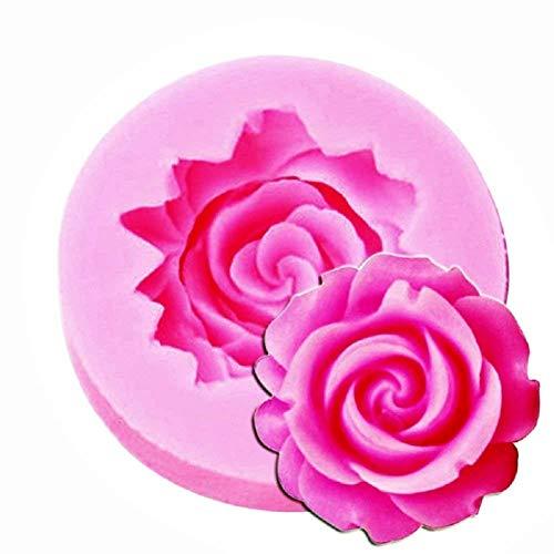 Stampo in silicone - pancake - rosa - utilizzo alimentare - pasta di zucchero - fondenti - torte muffin - fai da te - decorazioni - diy - idea regalo originale - hobby - cucina - ottima qualità
