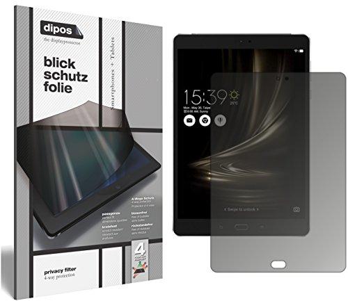 dipos I Blickschutzfolie matt passend für Asus ZenPad 3S 10 LTE (2017 / Z500KL) Sichtschutz-Folie Bildschirm-Schutzfolie Privacy-Filter
