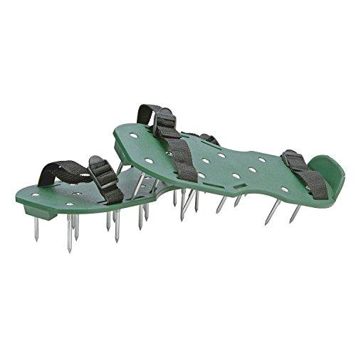 comprare on line Parkland®, sandali chiodati per aerazione di prato e giardino, con2cinghie regolabili, 13 chiodi da 5cm di profondità prezzo