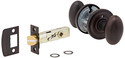 Baldwin Oval Door Knob (Baldwin 5025.112.PRIV Solid Brass Door Knob by Baldwin)