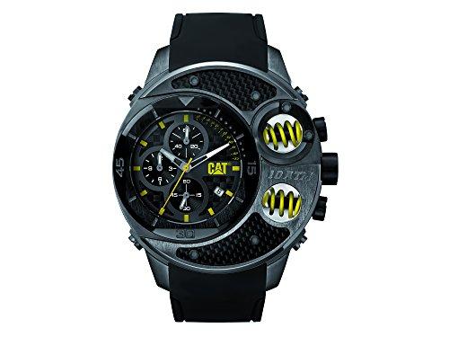 CAT relojes hombre DU 153.21.125 DU54 analógico negro y oro rosado