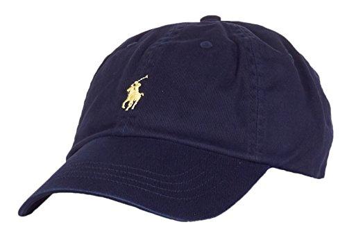 Ralph Lauren Herren 71054852406 Blau Baumwolle Hut (Polo-hüte Blau)